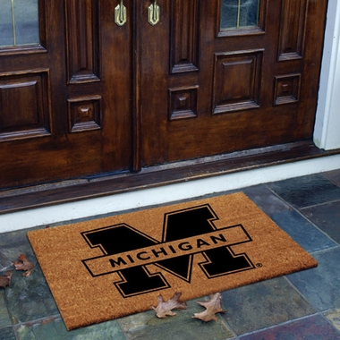 Michigan Flocked Coir Doormat