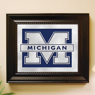Michigan Framed Laser Cut Metal Wall Art