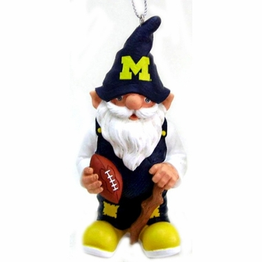 Michigan Gnome Christmas Ornament