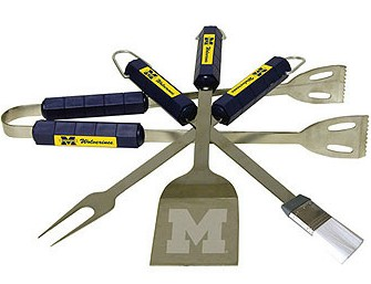 Michigan Grill BBQ Utensil Set