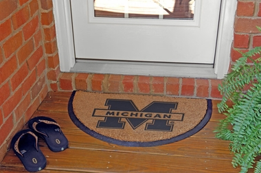 Michigan Half Moon Door Mat