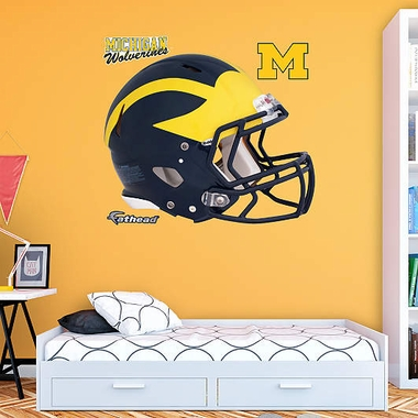 Michigan Helmet Fathead Wall Graphic