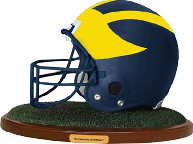 Michigan Helmet Figurine