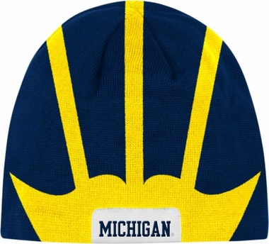 Michigan Helmet Knit Hat