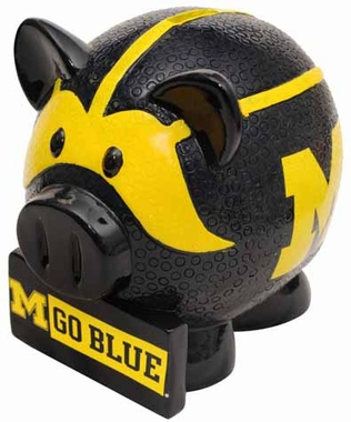 Michigan Large Thematic Piggy Bank