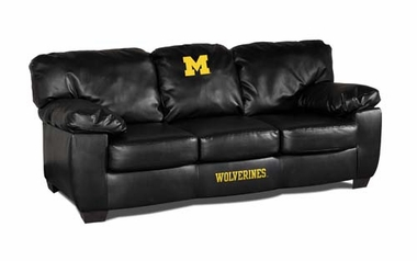 Michigan Leather Classic Sofa