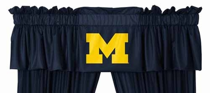 Michigan Logo Jersey Material Valence