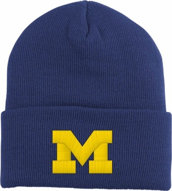 Michigan Logo Knit Ski Cap