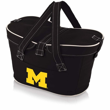 Michigan Mercado Picnic Basket (Black)