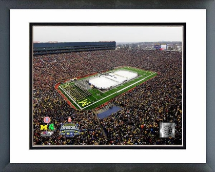 Michigan Michigan Stadium Michigan Wolverines Vs. Michigan St. Spartans 16x20 Framed and Double-Matted Photo