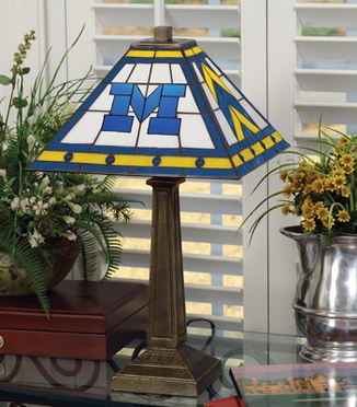 Michigan Mission Lamp