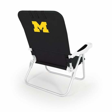 Michigan Monaco Beach Chair (Black)