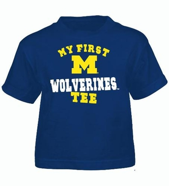 Michigan My First Tee Toddler Shirt