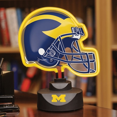 Michigan Neon Display Helmet