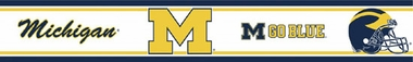 Michigan Peel and Stick Wallpaper Border