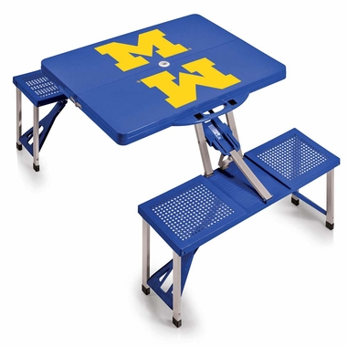 Michigan Picnic Table (Blue)