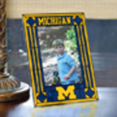 Michigan Portrait Art Glass Picture Frame