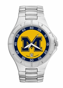 Michigan Pro II Men's Stainless Steel Watch