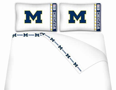 Michigan Queen Sheet Set