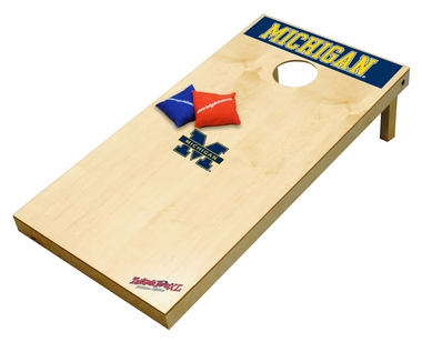 Michigan Regulation Size (XL) Tailgate Toss Beanbag Game