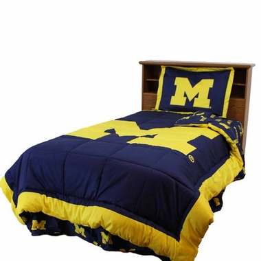 Michigan Reversible Comforter Set - Queen