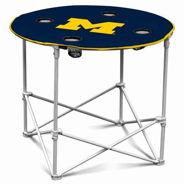Michigan Round Tailgate Table