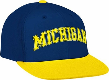 Michigan Script Snapback Hat