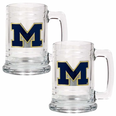 Michigan Set of 2 15 oz. Tankards