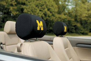Michigan Set of 2 Headrest Covers (F)
