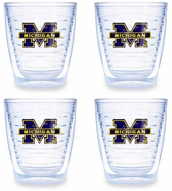 Michigan Set of FOUR 12 oz. Tervis Tumblers