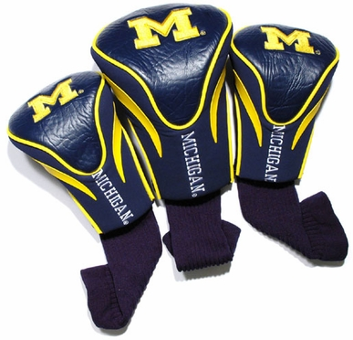 Michigan Set of Three Contour Headcovers