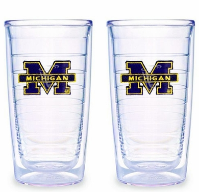 Michigan Set of TWO 16 oz. Tervis Tumblers