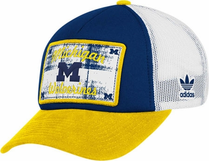 Michigan Snapback Trucker Hat