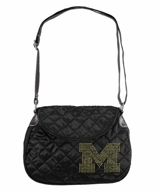 Michigan Sport Noir Quilted Saddlebag