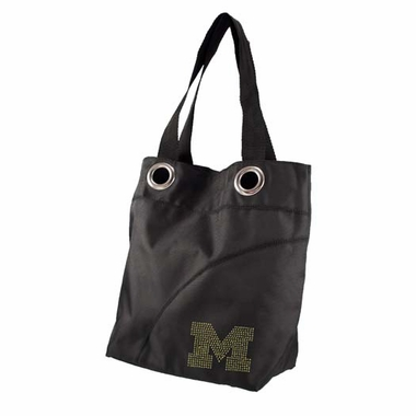 Michigan Sport Noir Sheen Tote