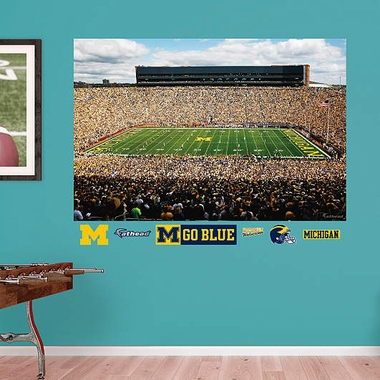 Michigan Stadium Fathead Wall Graphic