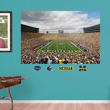 Michigan Stadium Mural Fathead Wall Graphic