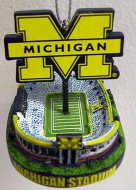 Michigan Stadium Ornament