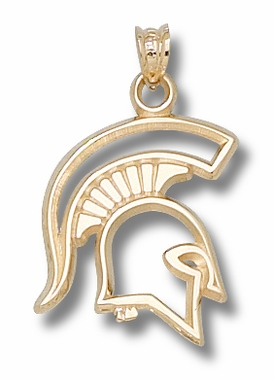 Michigan State 10K Gold Pendant