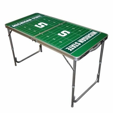 Michigan State 2 x 4 Foot Tailgate Table