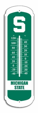 Michigan State 27 Inch Outdoor Thermometer (P)