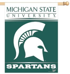 "Michigan State Spartans 27""x37"" Banner"