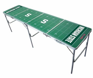 Michigan State 2x8 Tailgate Table