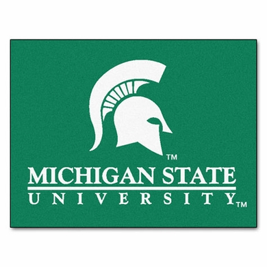 Michigan State 34 x 45 Rug
