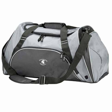 Michigan State Action Duffle (Color: Grey)