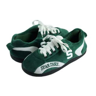 Michigan State All Around Sneaker Slippers - Large