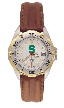 Michigan State All Star Womens (Leather Band) Watch