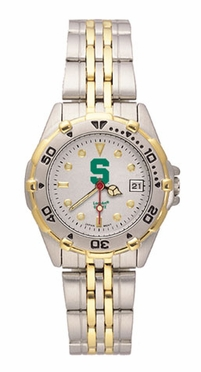 Michigan State All Star Womens (Steel Band) Watch