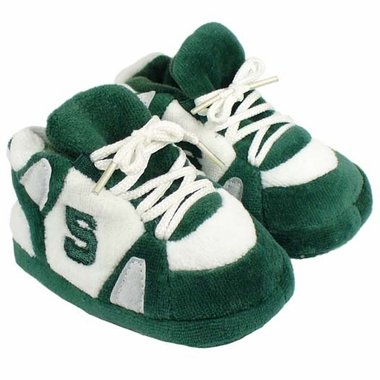 Michigan State Baby Slippers