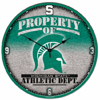 Michigan State Big 18 Inch Hi Definition Clock